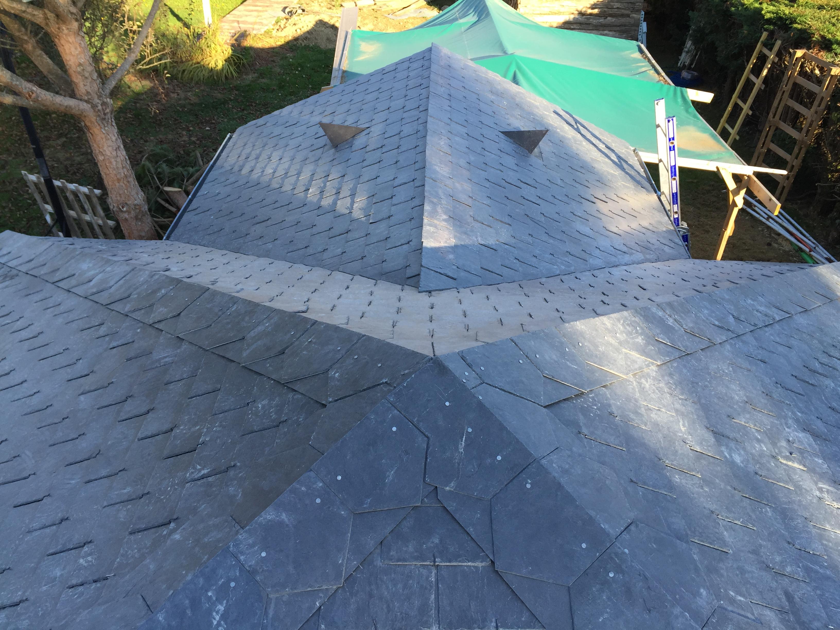 Couverture de l'habitat</br>tuile, ardoise, zinc, toiture végétale