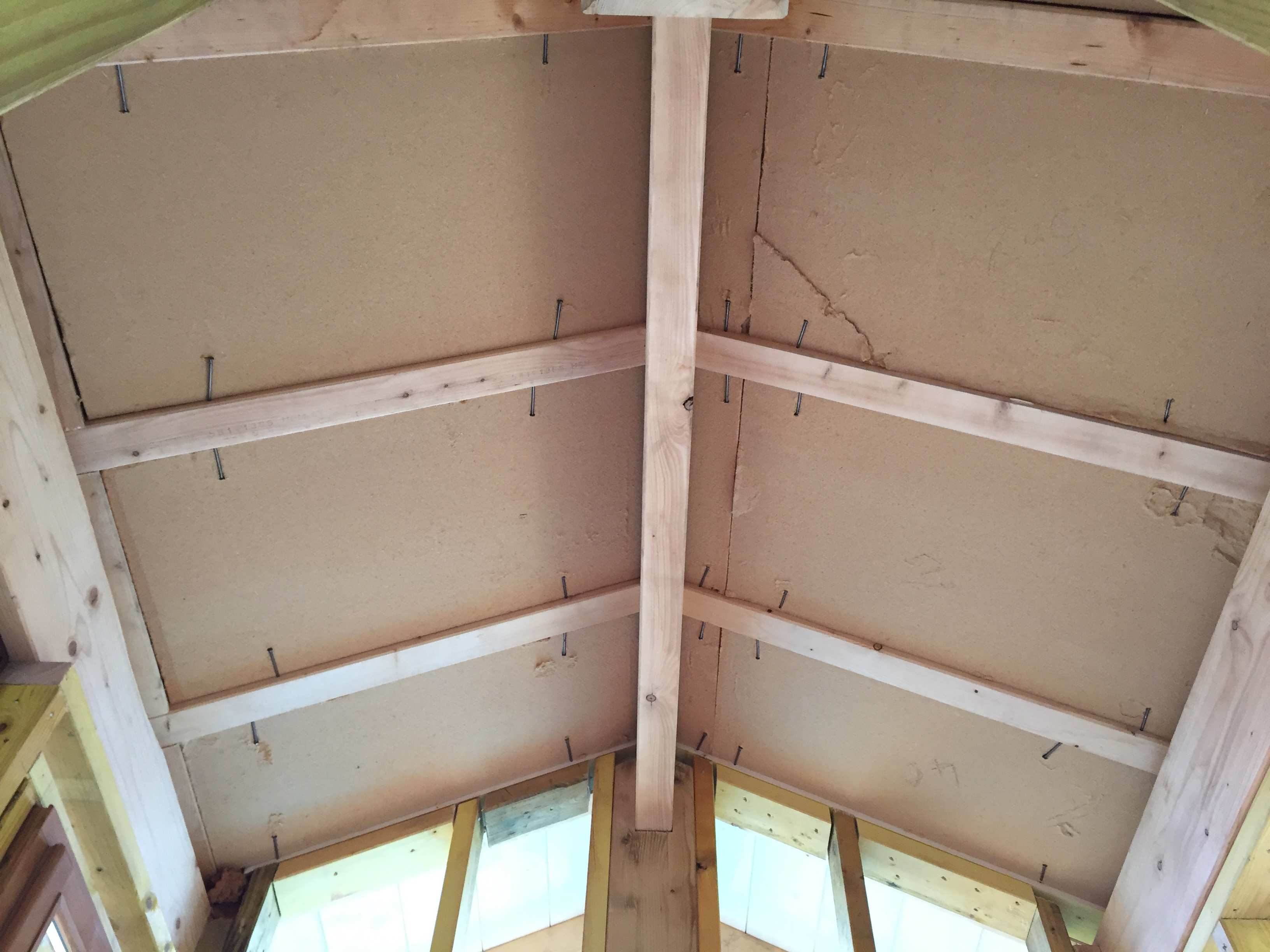 isolation toiture de l'ossature bois