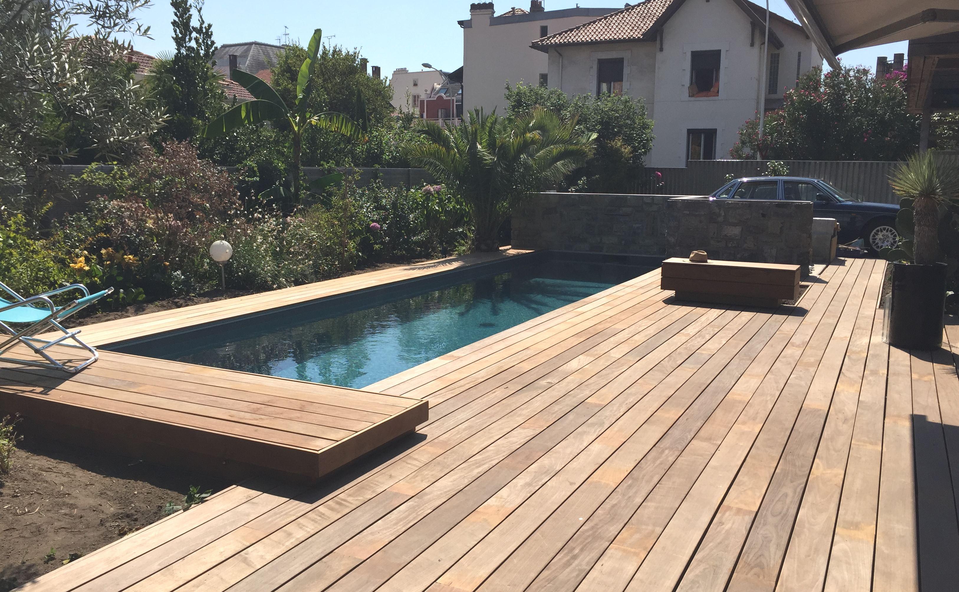 Terrasse bois exotique IP